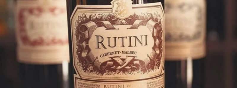 Vino tinto Rutini Wines