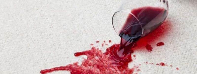 Como limpiar vino tinto de la alfombra